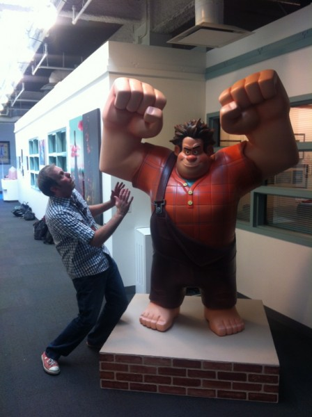 Wreck-It Ralph and Whit Honea