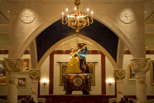 Be Our Guest Restaurant Rose Gallery - New Fantasyland