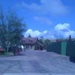 Looking into Gaston's Village