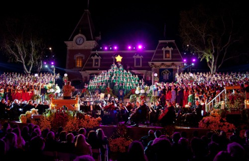 Candlelight Processional at Disneyland