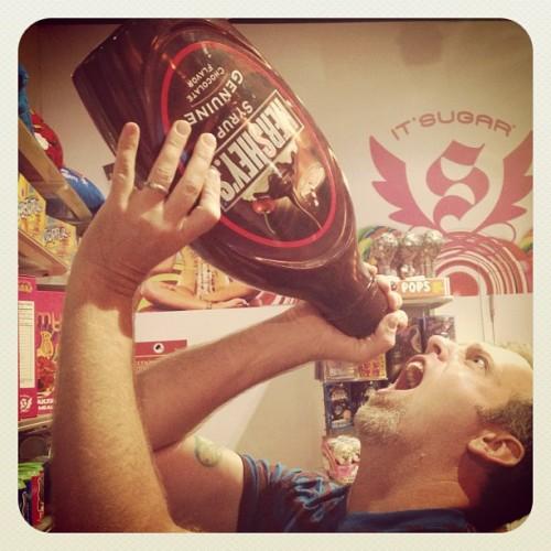 big hershey syrup