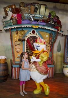 Daisy Meet and Greet at Storybook Circus