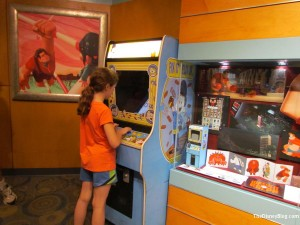 Fix-it Felix Jr game has been added to Art of Animation exhibit. Alas, it is locked down so it can't be played. I
