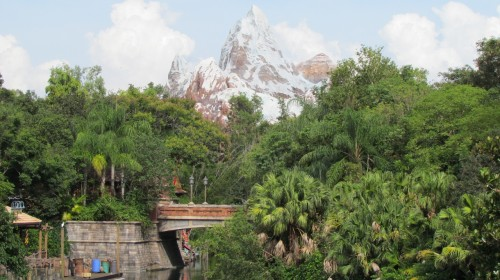 View of Expedition Everest