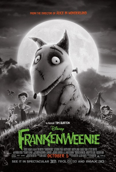 Frankenweenie movie poster