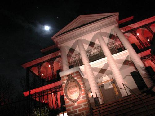 Disneyland Haunted Mansion Replica