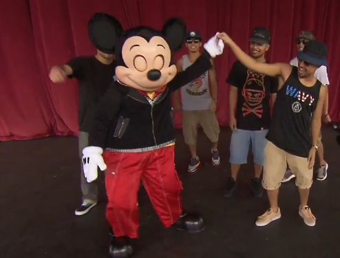 Jabbawokeez - Mickey