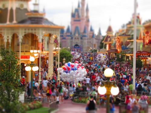 Disney Memories - Magic Kingdom at Twilight