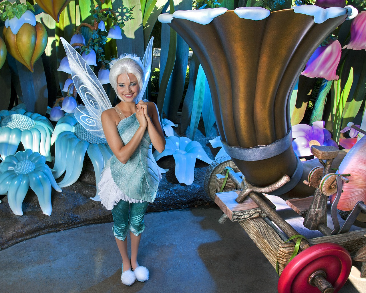 Periwinkle at Disneyland