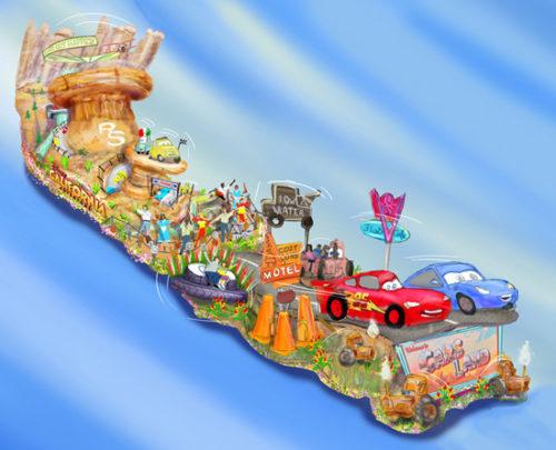 cars-land float