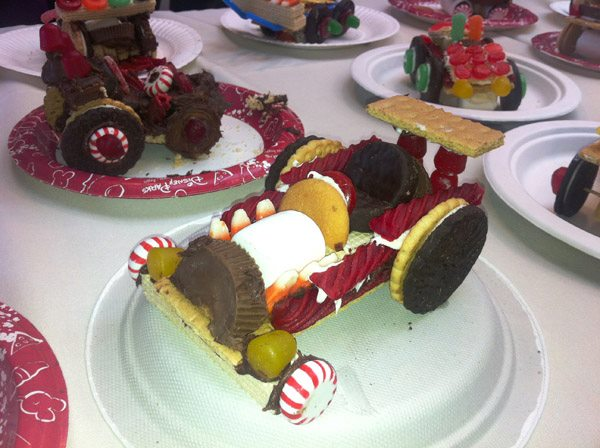 make sugar rush car
