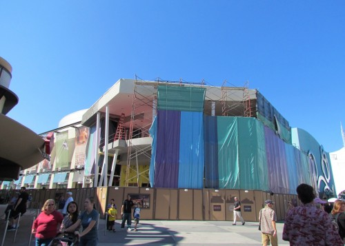 Splitsville construction Nov 2012