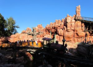 Big Thunder Mountain Railroad at the Magic Kingdom