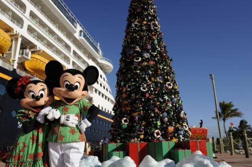 castaway cay christmas with mickey