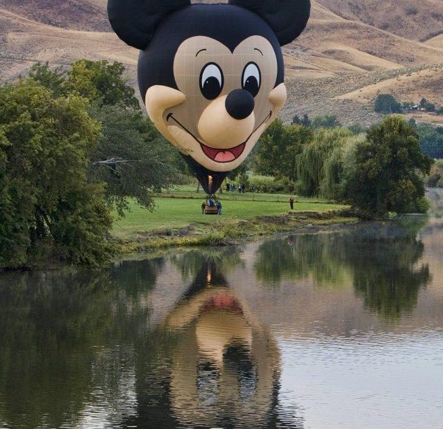 Mickey Mouse Hot Air Balloon