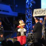 Mickey helps open Test Track