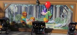 01-dwarfs-mural-pooh