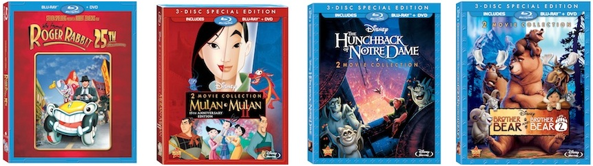 New Blu-ray DVDs from Disney
