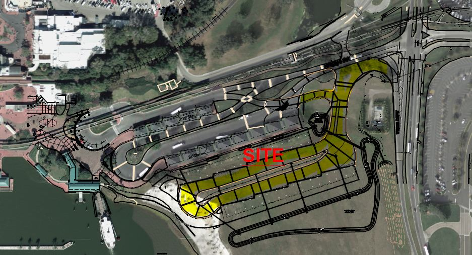 New Bus Depot At Magic Kingdom To Allow For Larger Bus