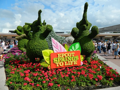 2013 EPCOT Flower Garden Festival Details The Disney Blog