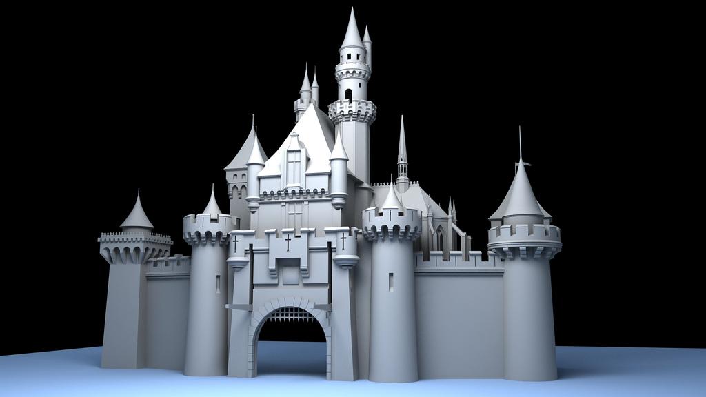 Disneyland 3D Modeling Project | The Disney Blog
