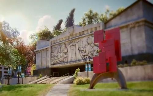 Pixar's Monsters University - School of Door Technology