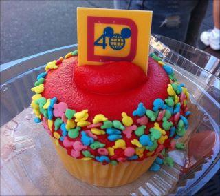 40th cupcake