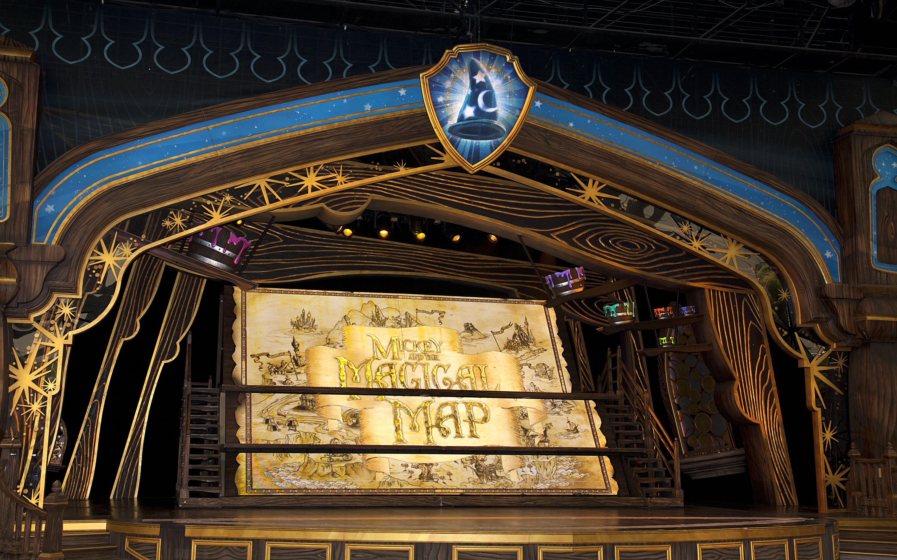 (April 25, 2013)  Mickey and the Magical Map(Paul Hiffmeyer/Disneyland Resort)