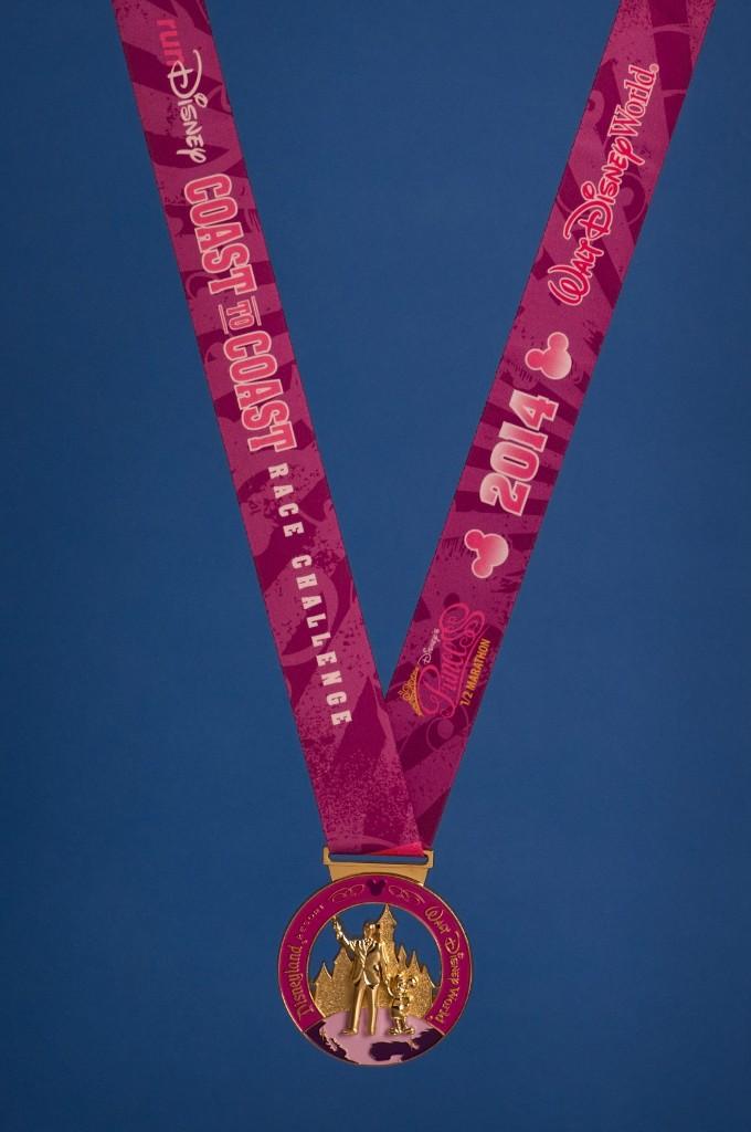 Special Coast to Coast medal