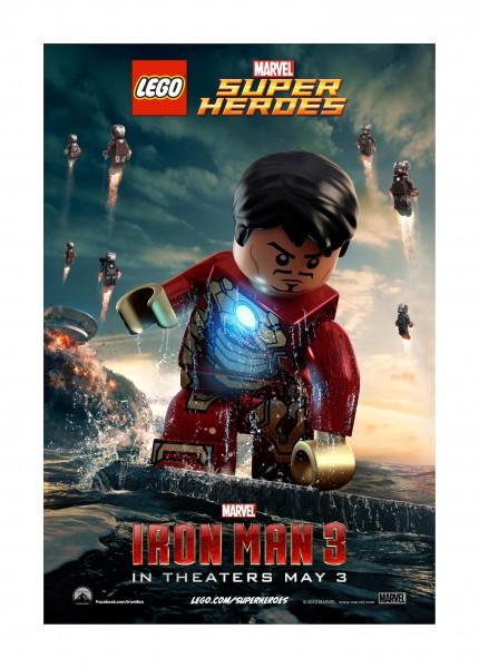 Iron Man 3 Lego poster