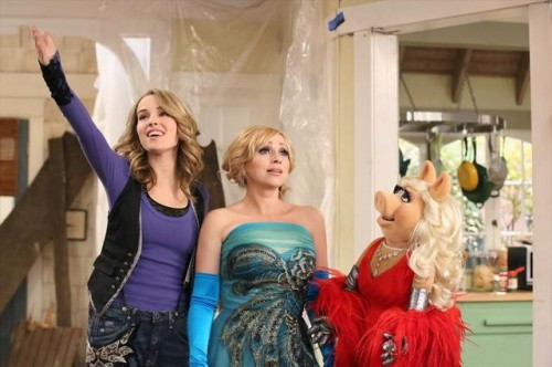 BRIDGIT MENDLER, LEIGH-ALLYN BAKER, MISS PIGGY