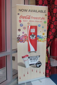 Coca-Cola Freestyle Machines can now be found in Splitsville.