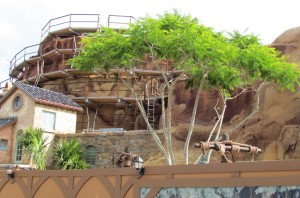 Trees have been installed in Eric's Village.