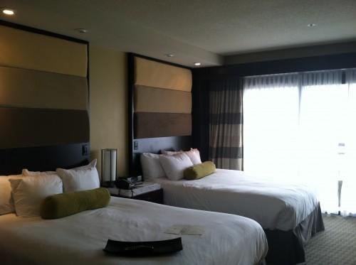 Disney's Contemporary Resort rooms sleep five comfortably.