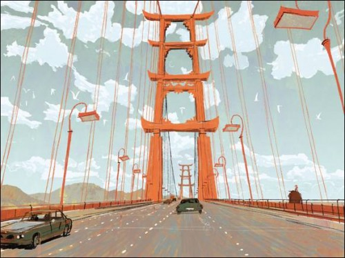 Concept art Big Hero 6