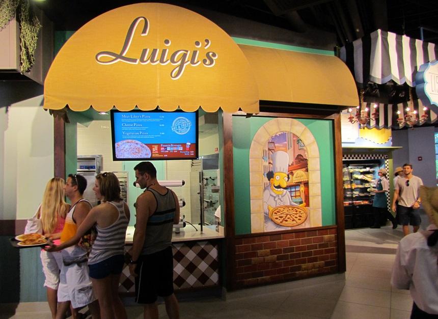Luigi's, of course