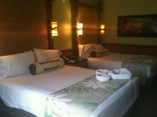 The New Rooms at the Polynesian are Gorgeous.