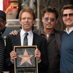 Martin Lawrence, Jerry Bruckheimer, Johnny Depp, and Tom Cruise.
