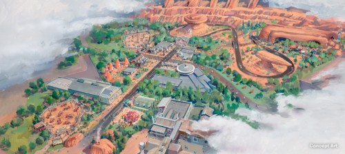 Cars Land at DHS would replace backlot and Lights Motors Action.