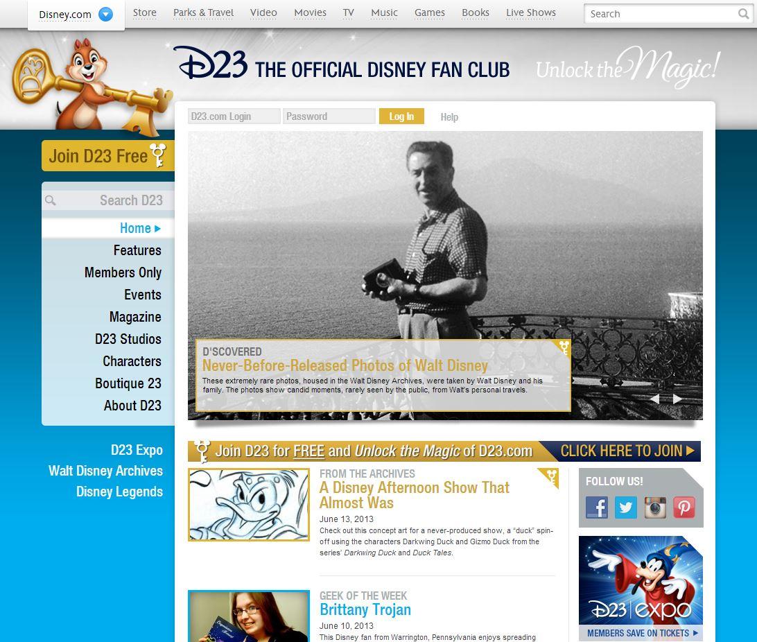 Official Disney Fan Club Opens Free Membership Level, Finally