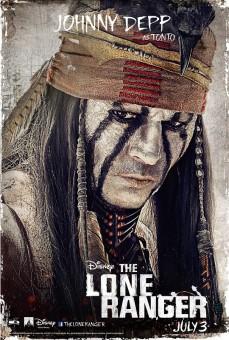 the-lone-ranger-tonto-johnny-depp-poster