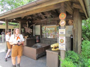 As you may have heard the Wilderness Explorers game is now open. We found it a fun scavenger hunt, worth repeating.