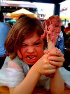 turkey leg kid