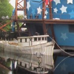 The SS Jenny is getting some much needed TLC.
