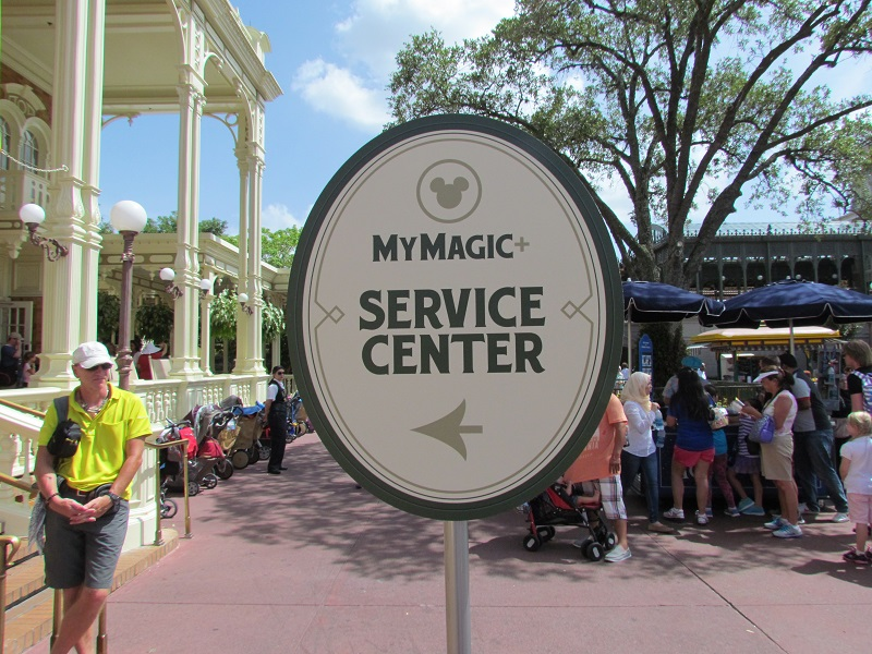 You can also get help configuring your MyMagic+ account in Town Square Theater