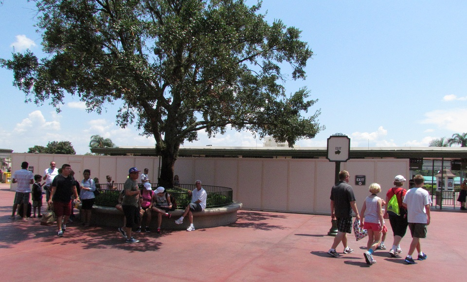 Work continues to switch over a majority of the main entrance gates to Next-Gen tech