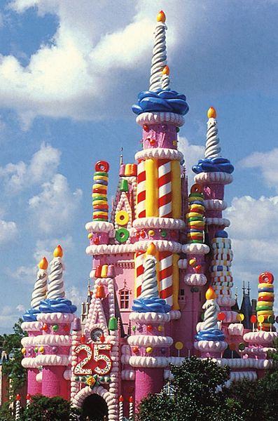 25th_Celebration_Cinderella_Castle_1997