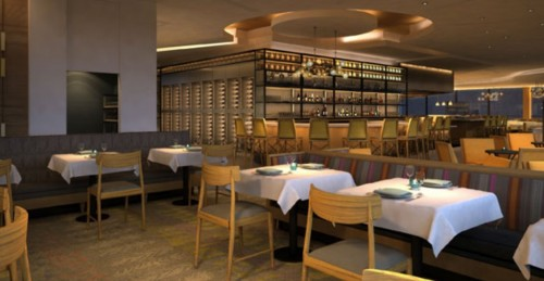 Concept Art of New California Grill