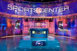 Empty SportsCenter Set