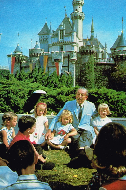 walt-sleeping-children-reading-castle